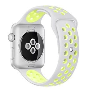 NEW Yellow/Fog Sport BAND For Apple Watch 42mm